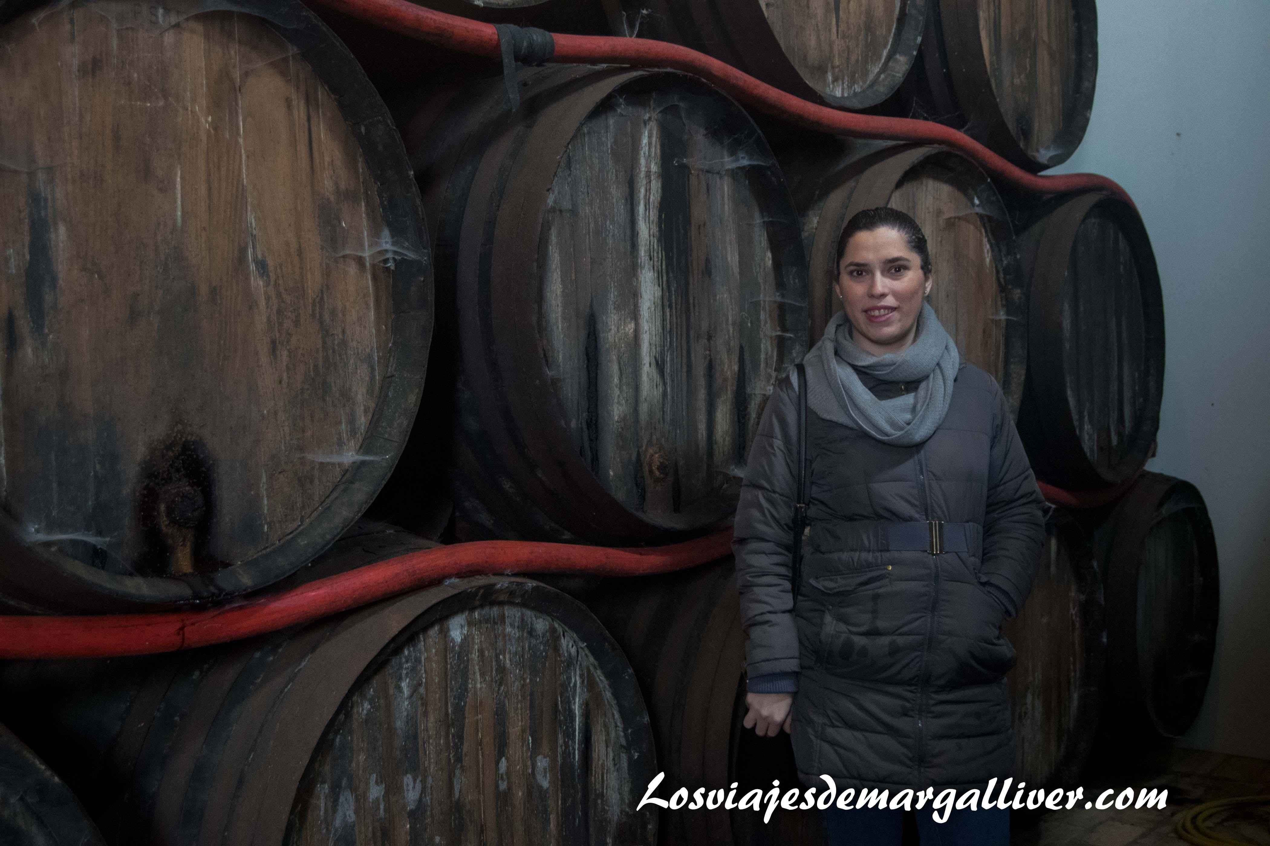 Bocoyes de 600 litros de la bodega Contreras Enoberry - Los viajes de Margalliver